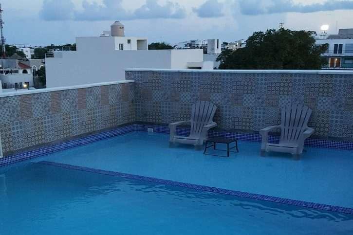 Playa del Carmen Rooftop Pool