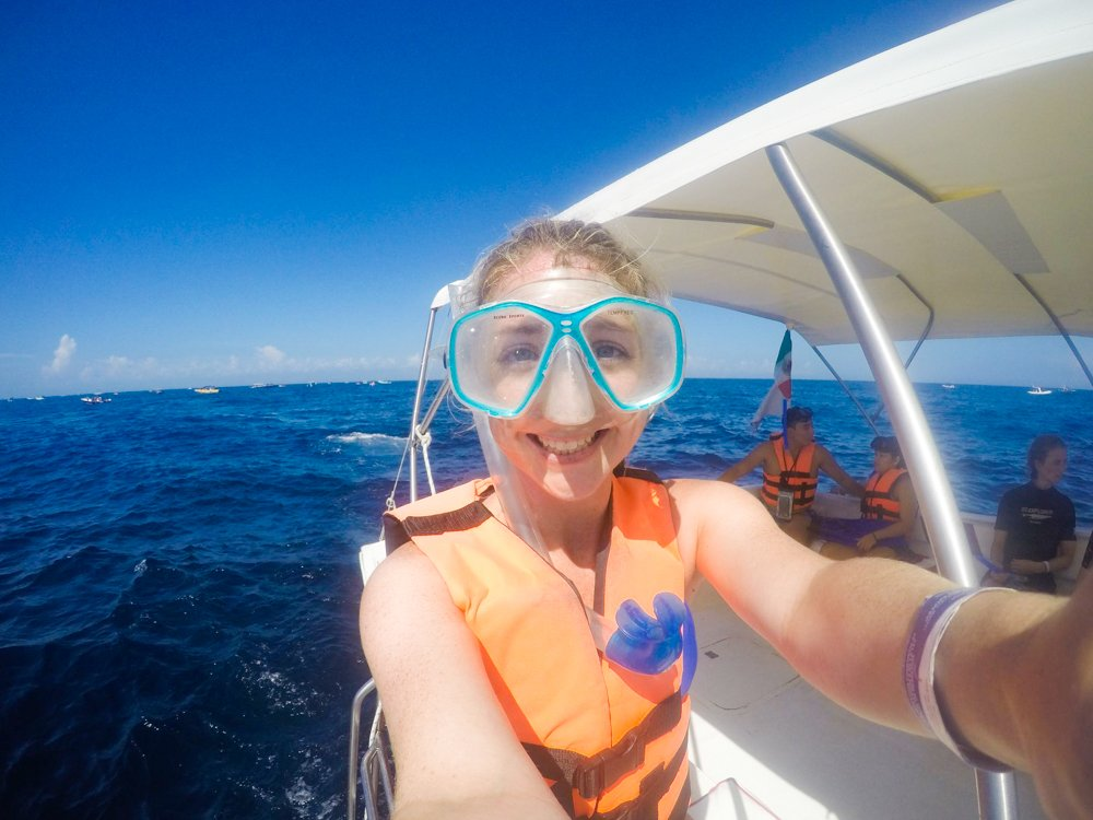Snorkeling Whale Sharks Cancun