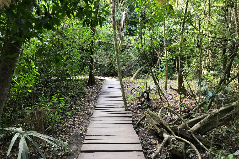 Kaan Luum Lagoon Entrance