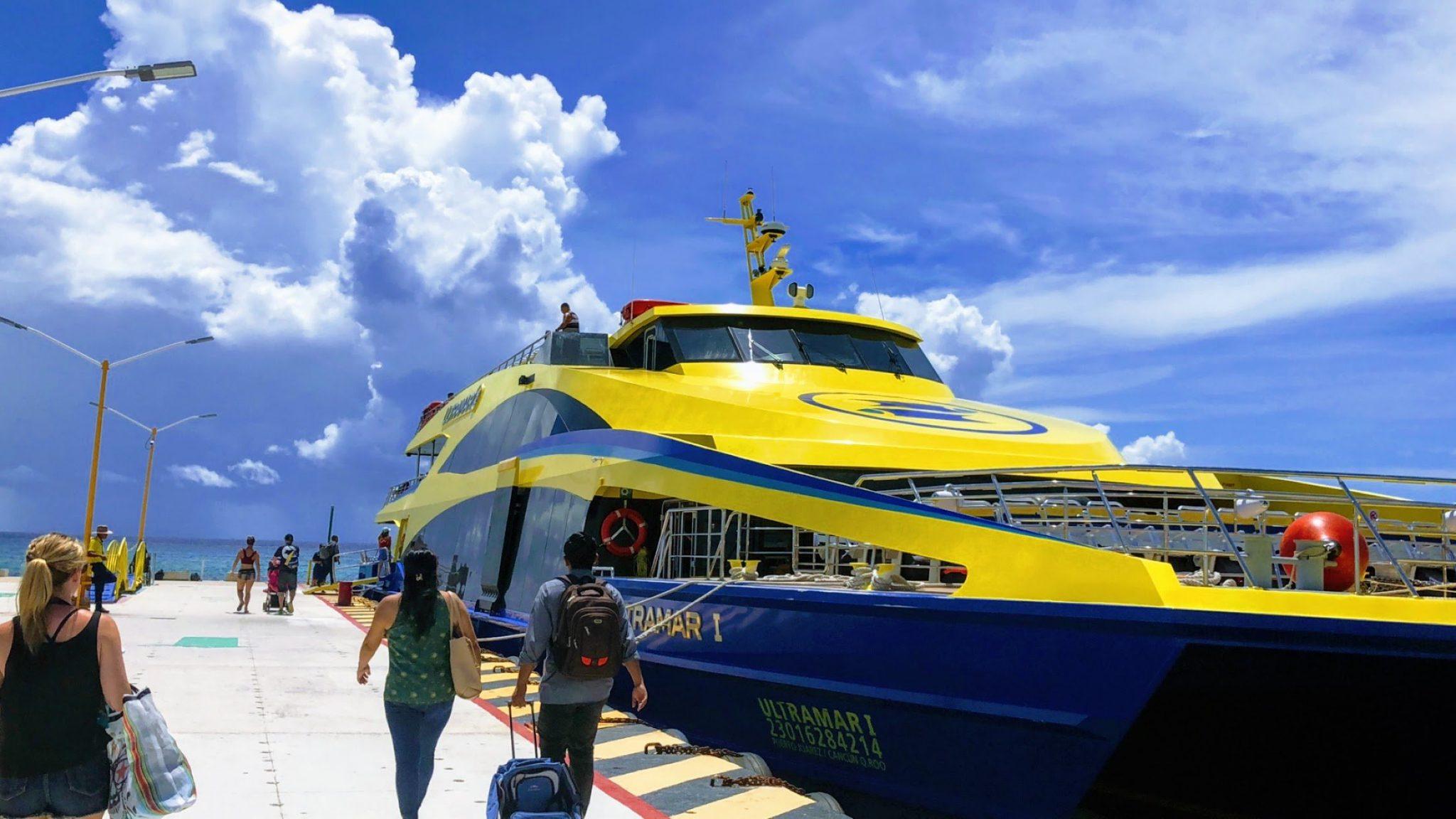 Ultramar Ferry to Cozumel