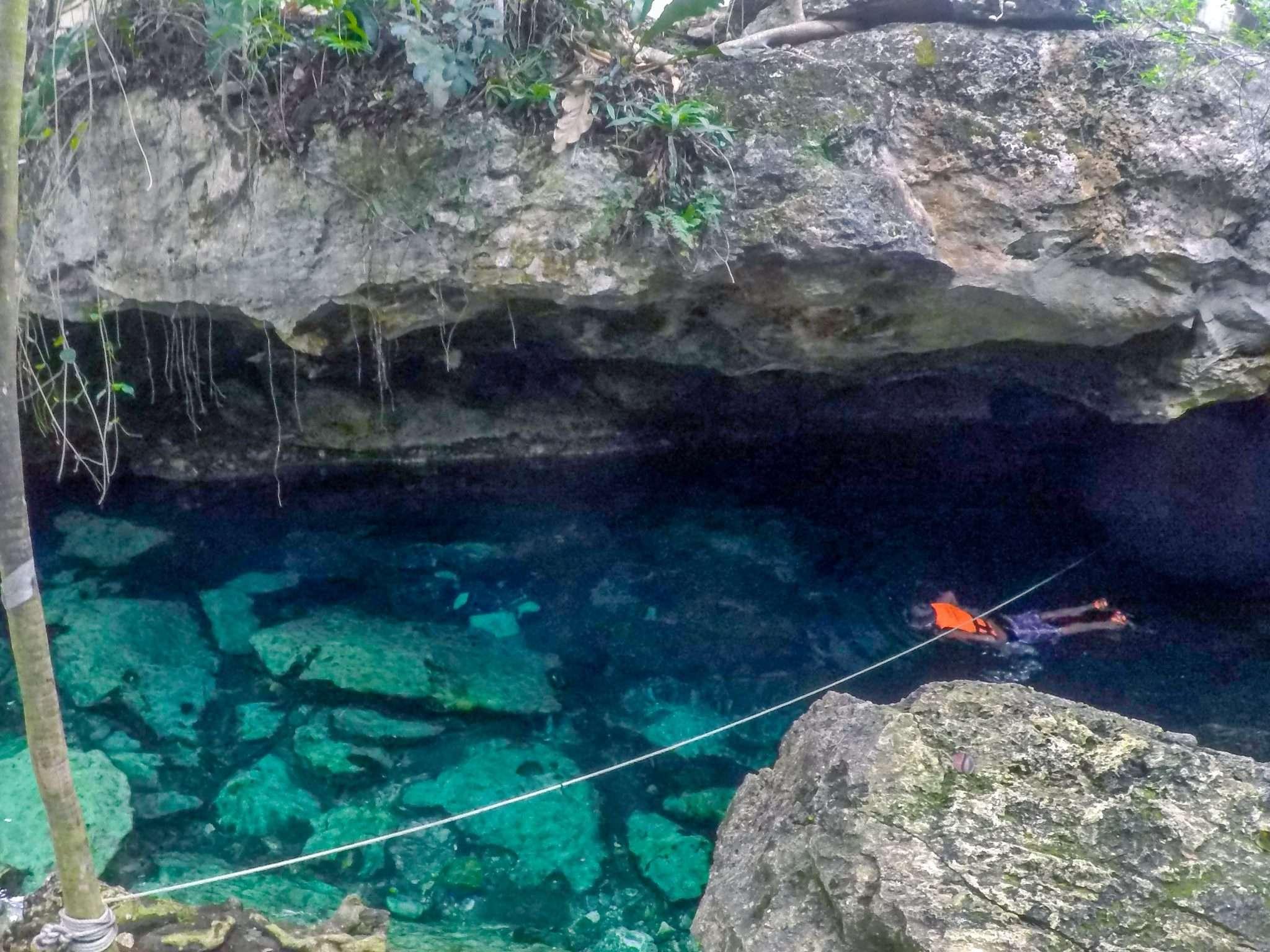Cenote Cristalino Cave Entrance
