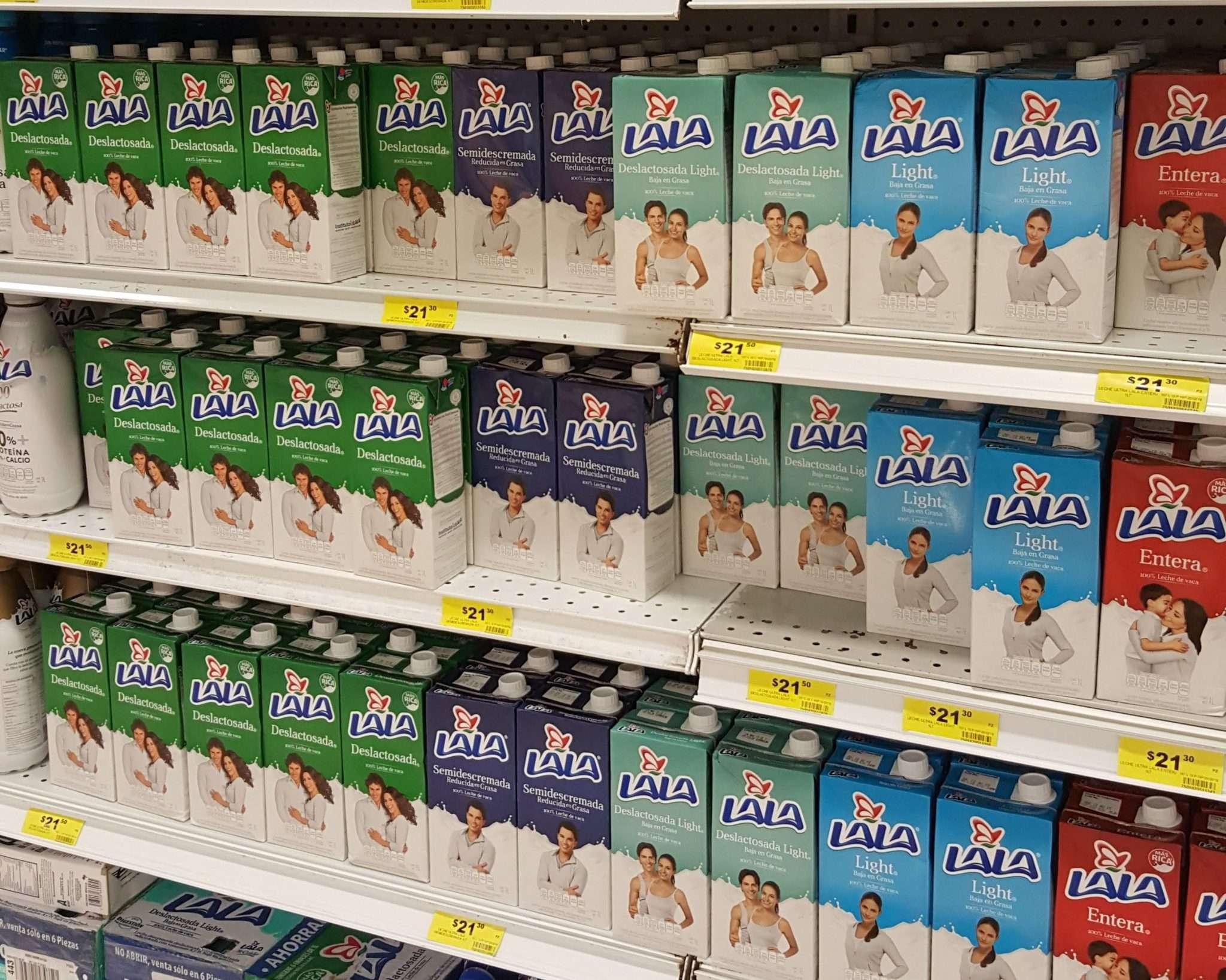 Milk Cartons Mexico