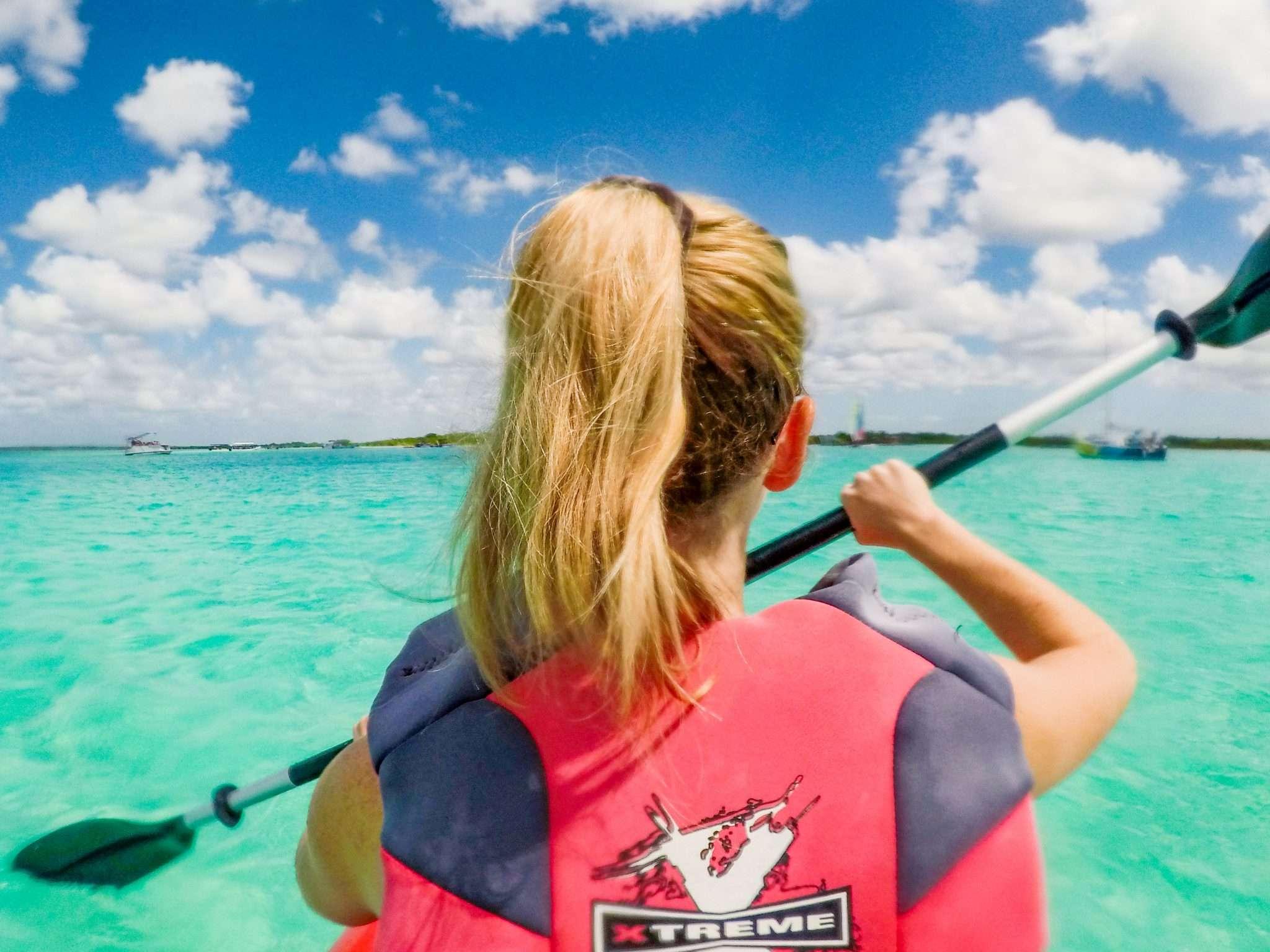 Bacalar kayak