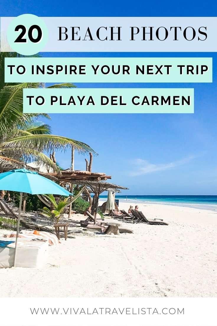 Playa del Carmen Beach Photos