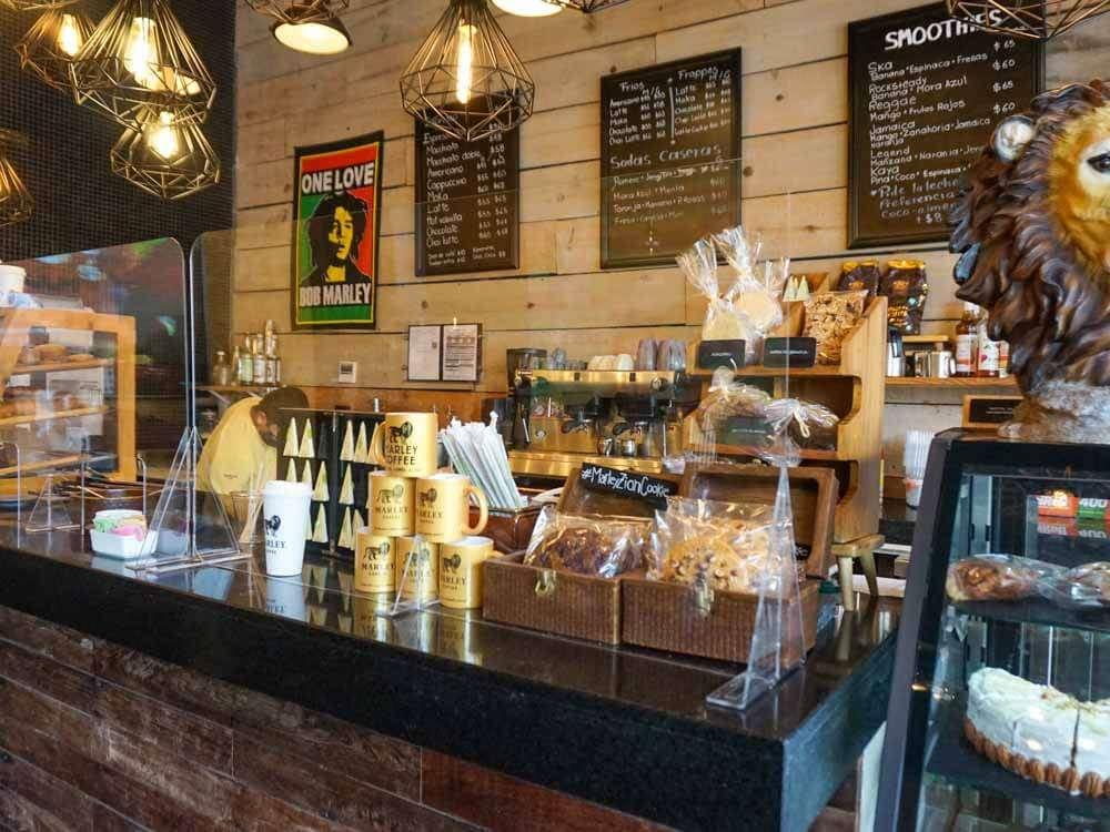 Marley Cafe Playa del Carmen