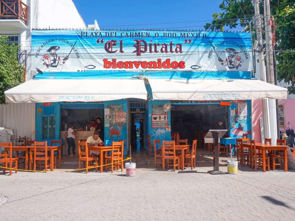 El Pirata Playa del Carmen