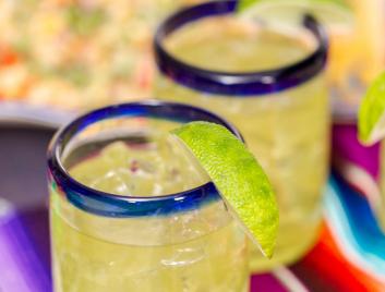 Mexican Margarita Glasses