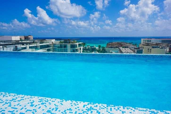 The Best Rooftop Pools in Playa del Carmen