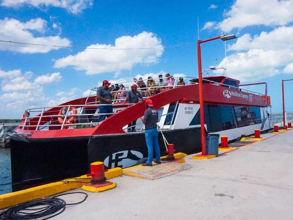 Holbox Ferry