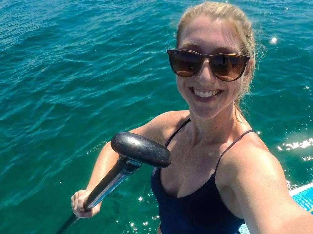 Playa del Carmen Paddle Boarding