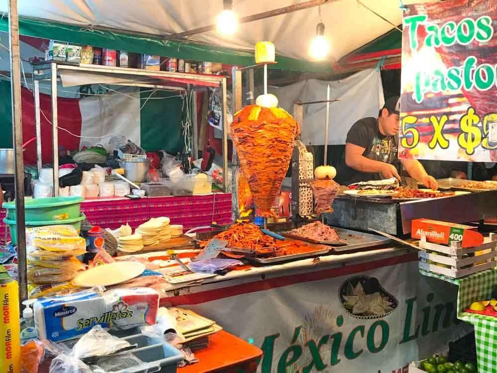 Tacos Playa del Carmen