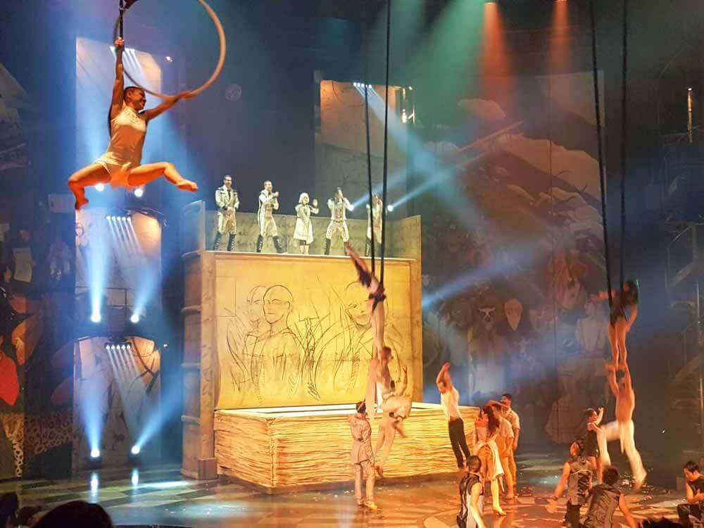 La Joya Cirque du Solei