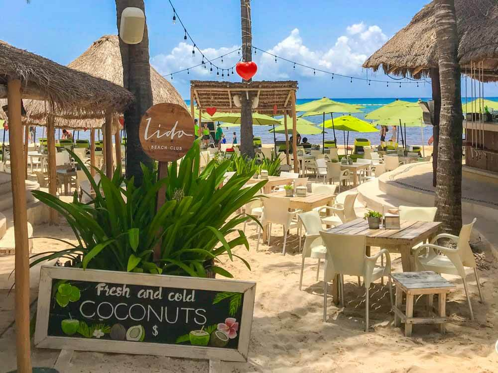 Lido Beach Club Playa del Carmen