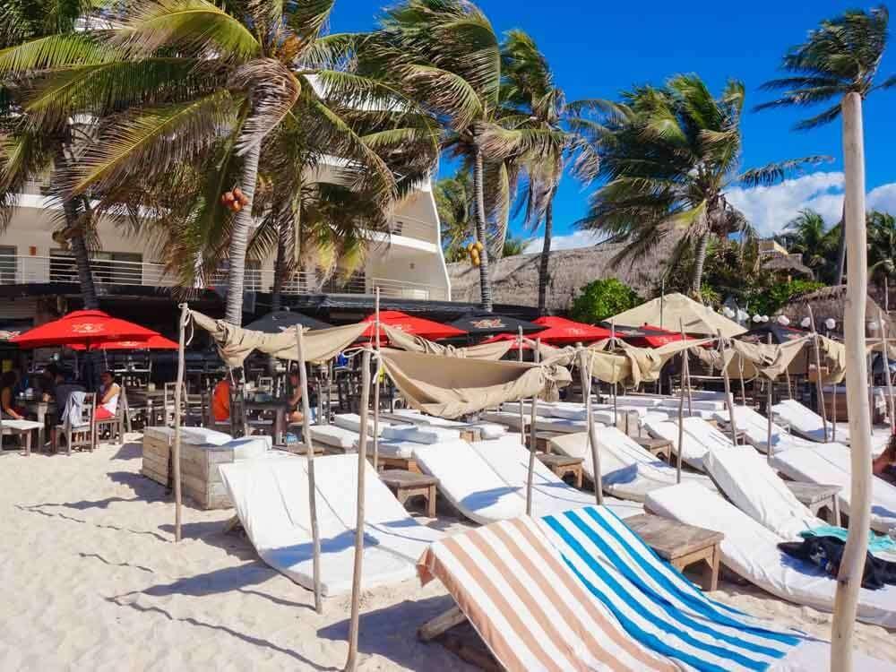 Zenzi Beach Club Playa del Carmen