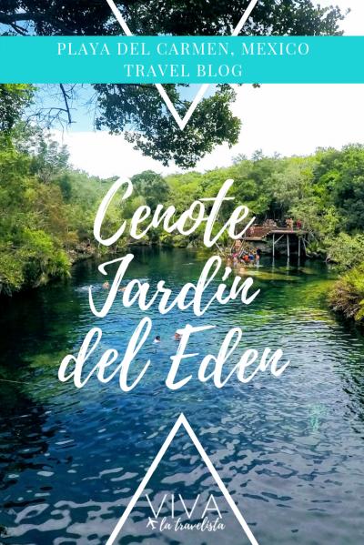 Cenote Jardin del Eden Pinterest