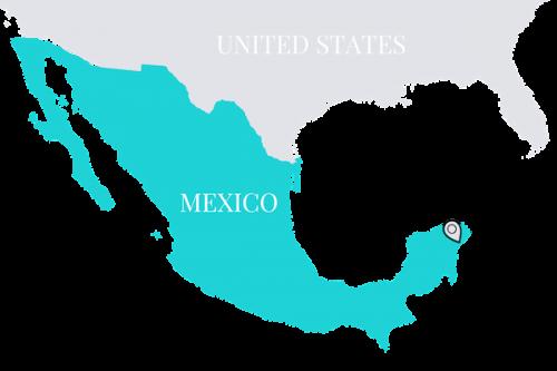 Playa del Carmen Map